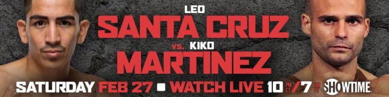 Santa Cruz vs. Martinez